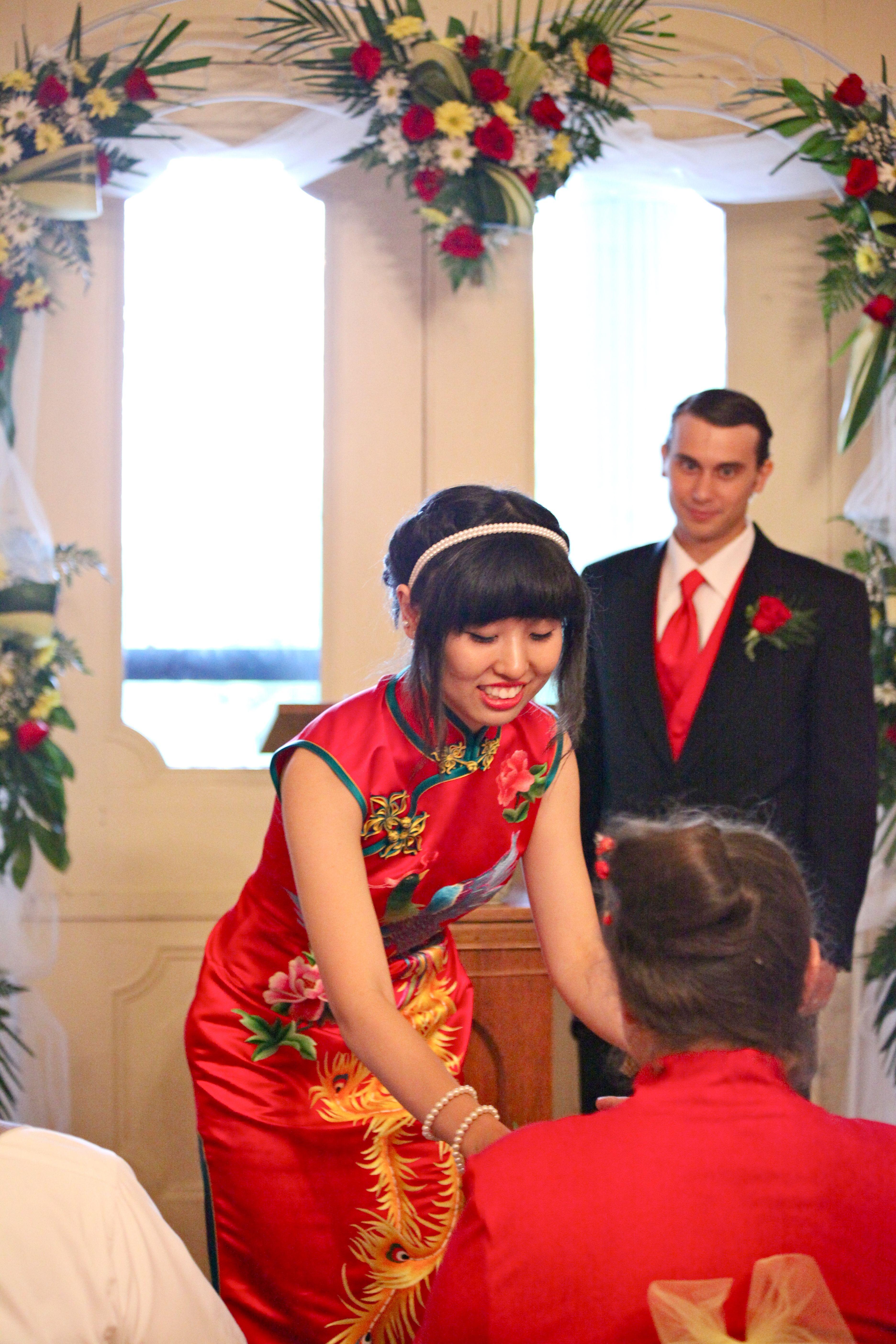 Chinese dress tea ceremony chinese wedding chinese