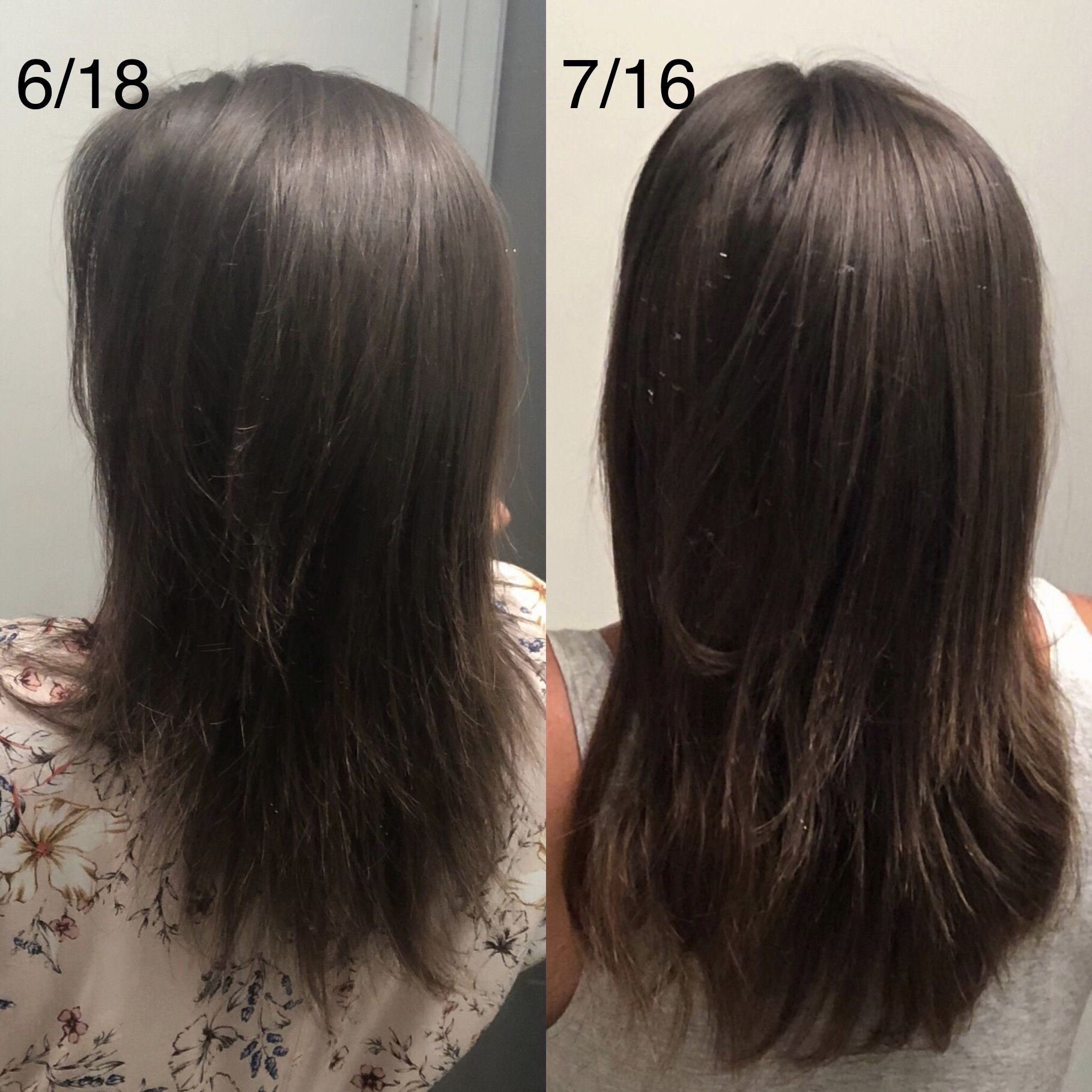 One Month Results Using Castor Oil Hair Styles Long Hair Styles Hair