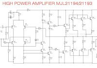 High Power Audio Amplifier MJL21194, MJL21193 in 2019 | fry2 | Audio
