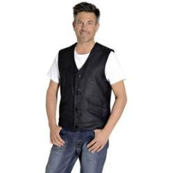 Photo of Highway 1 button leather vest black M Highway 1