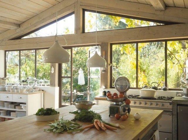 8 recettes pour personnaliser sa cuisine - Elle Décoration - cuisine d ete en pierre