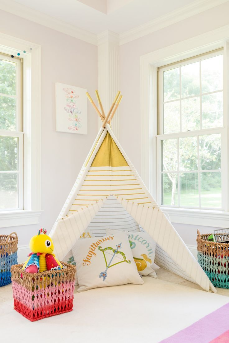 Elegant Kidsu0027 Playroom With Teepee   Cozy Spot For Reading, Playing Or Just  Cuddling!