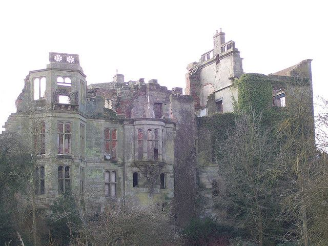 Ruins of Guys Cliffe House, Warwick