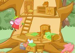 Juego casa del rbol de peppa jugar online gratis juegos peppa pig - Peppa pig la casa del arbol ...