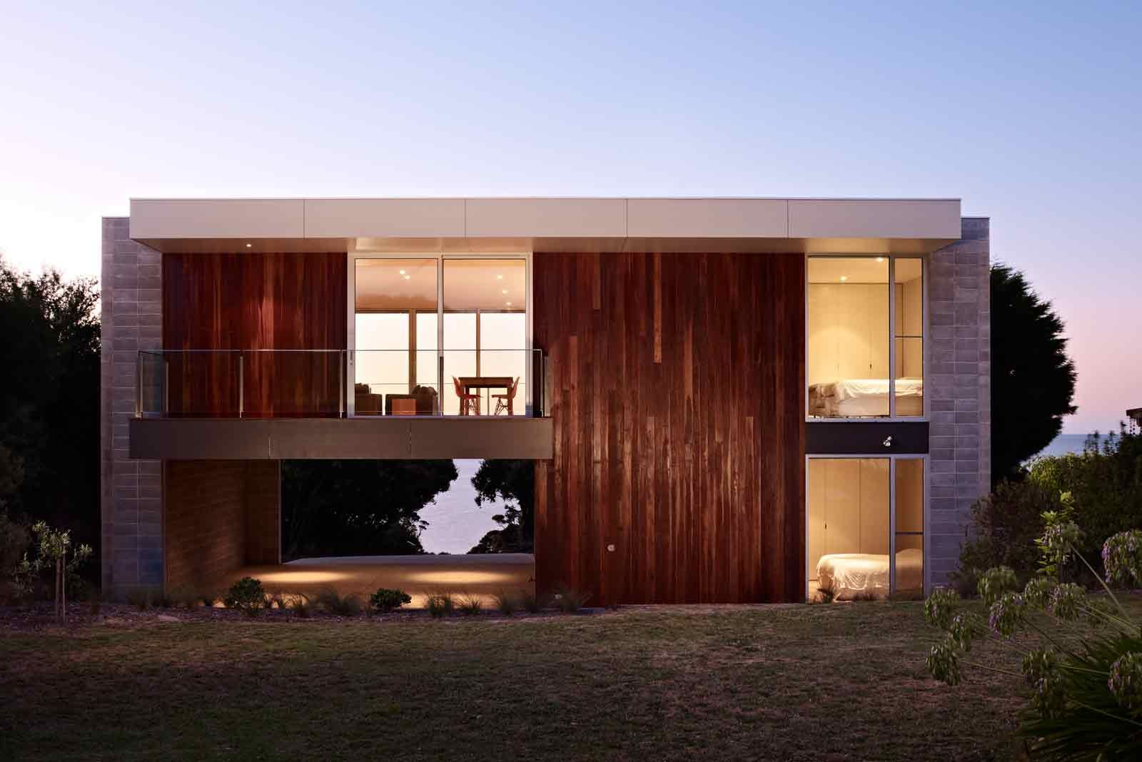 Exterior design for home  Pleysier Perkins Architects  Mt Martha   D E S I G N  H