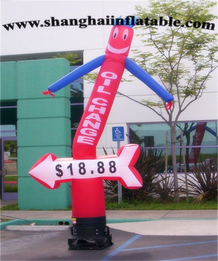 Hot sale Inflatable air dancers inflatable wind man