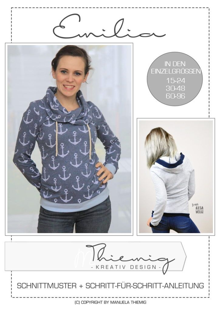 Ebook Hoodie Emilia für Damen - M.Thiemig - Kreativ Design | EBOOKS ...