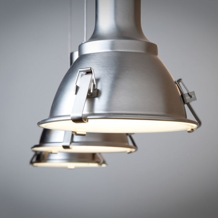 Industriele Hanglamp Staal Parade 3 In 2020 Industriele Hanglampen Hanglamp Industriele Lampen