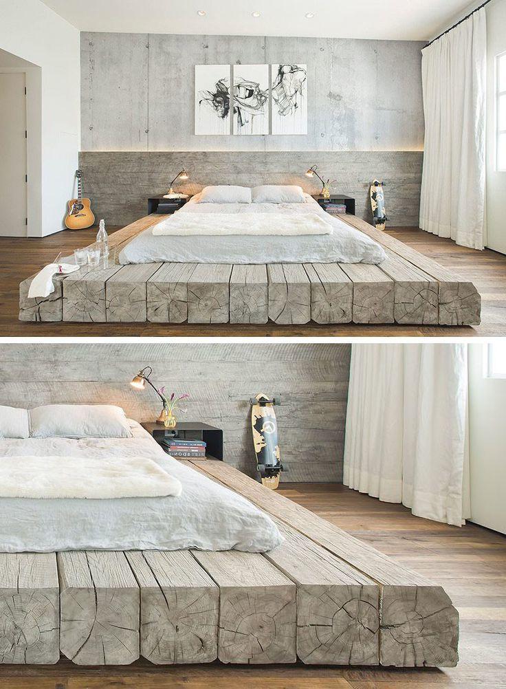Bett selber bauen ist leichte Aufgabe: 2 DIY Bauanleitungen! – DIY, Möbel – ZENIDEEN