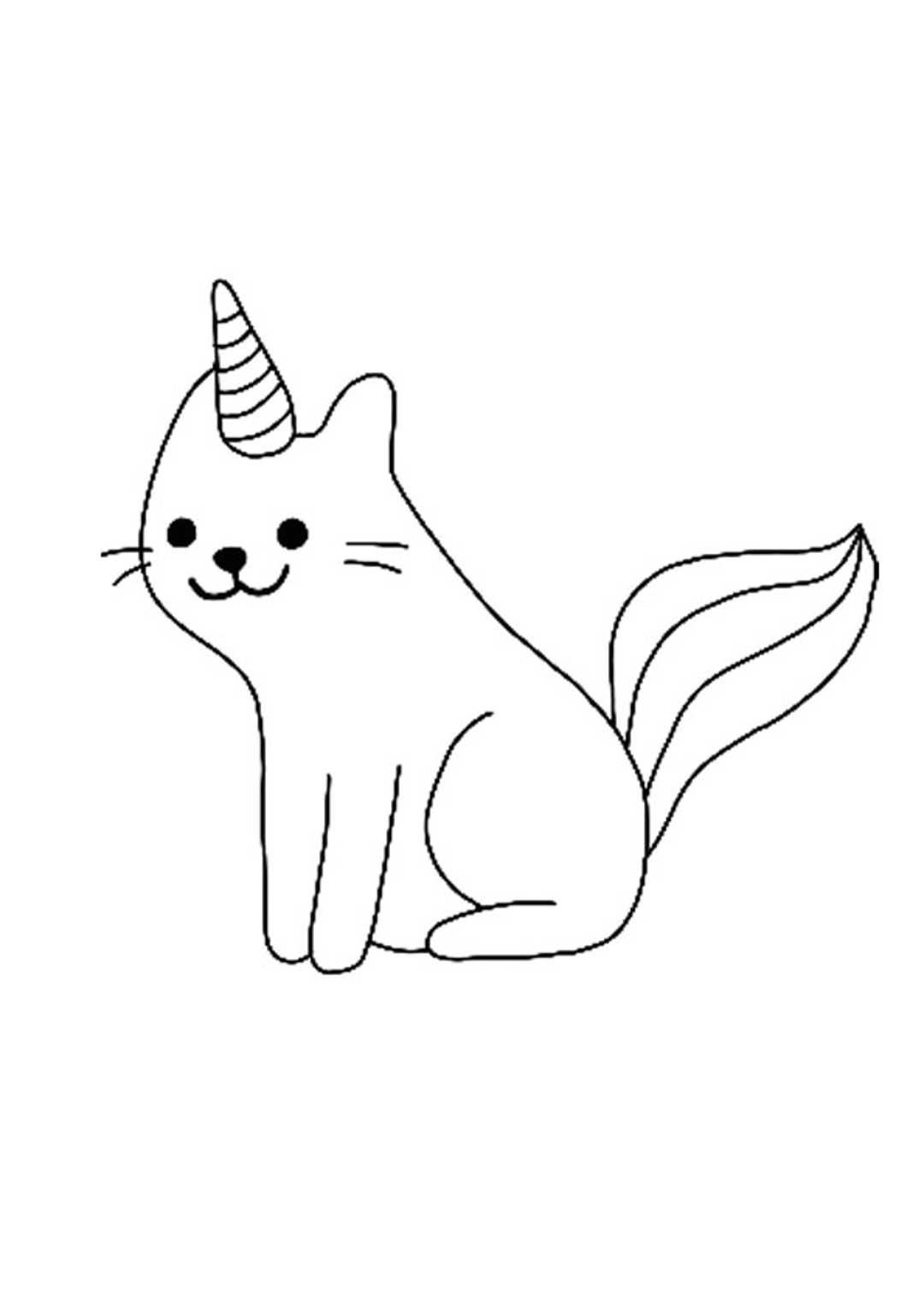 Unicorn Cat Coloring Pages Unicorn Coloring Pages Mandala Coloring Pages Cat Coloring Page