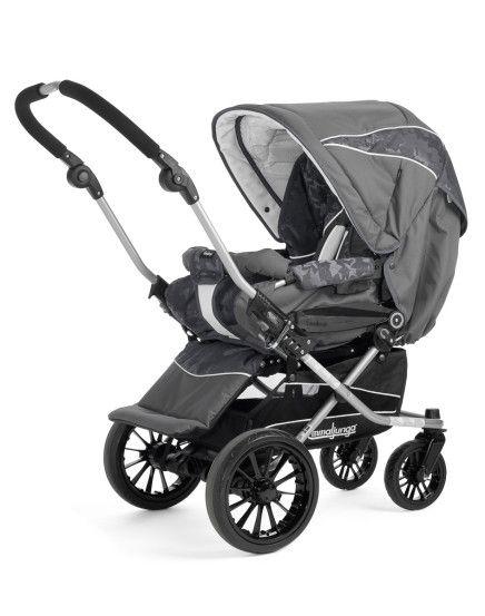 emmaljunga sportwagen grey leaves baby strollers baby. Black Bedroom Furniture Sets. Home Design Ideas