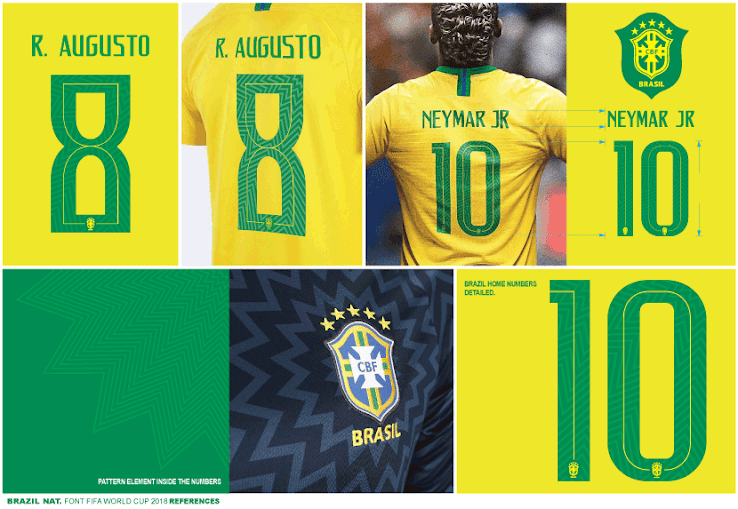 In Detail All Unique Nike 2018 World Cup Kit Fonts Footy Headlines World Cup Kits World Cup Nike World