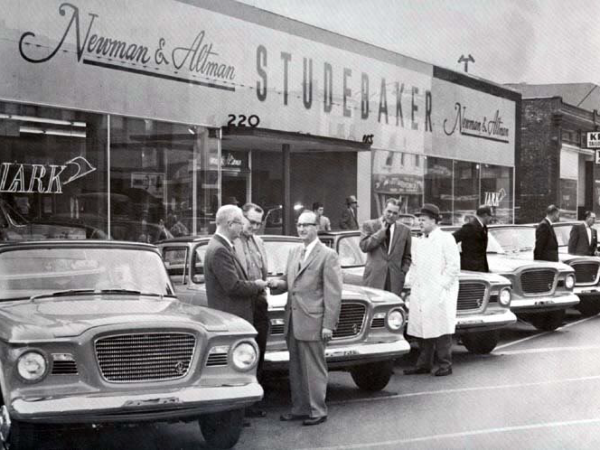 Newman Altman Studebaker Dealership South Bend Indiana