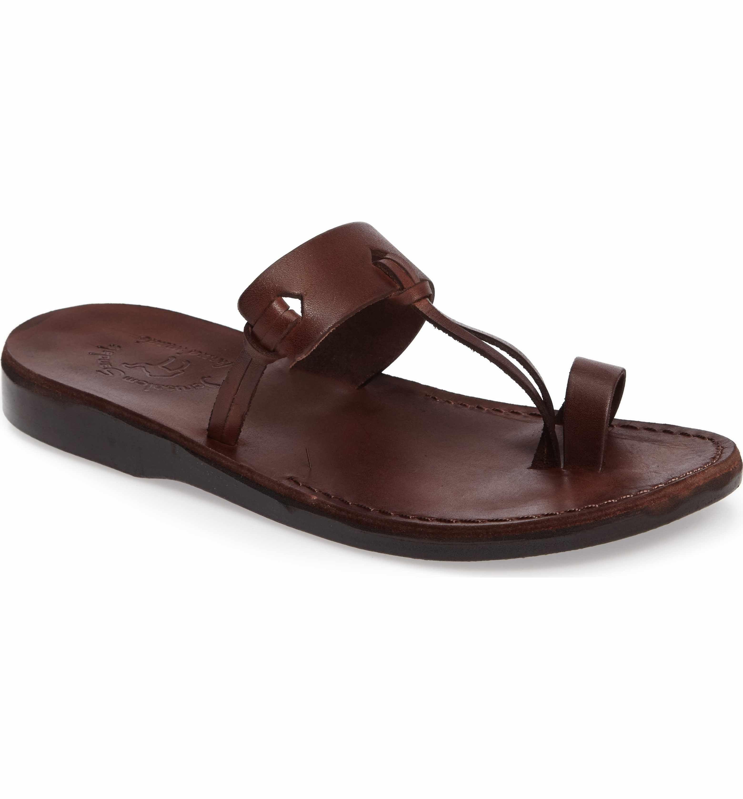 Jerusalem Sandals Mens David Slide Sandal