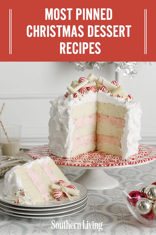 Most Pinned Christmas Dessert Recipes Christmas Food Desserts Christmas Desserts Desserts