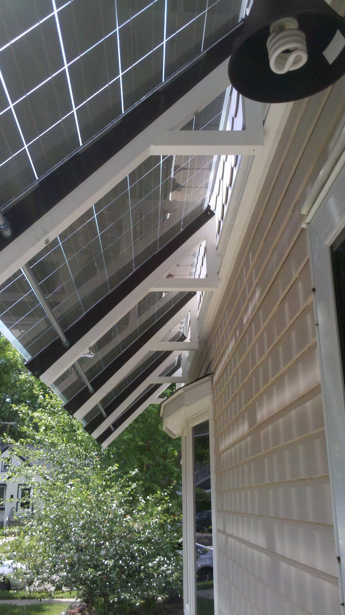 Silicon Energy Solar Awnings Installed By Powerfully Green