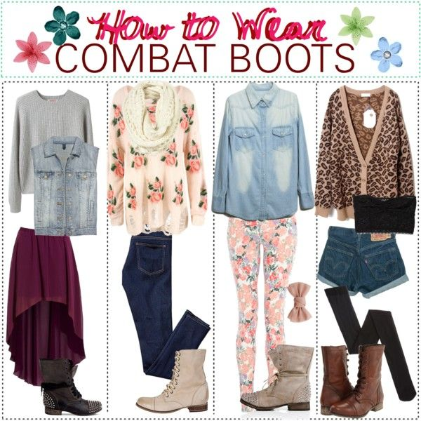 What To Wear With Brown Combat Boots - Cr Boot