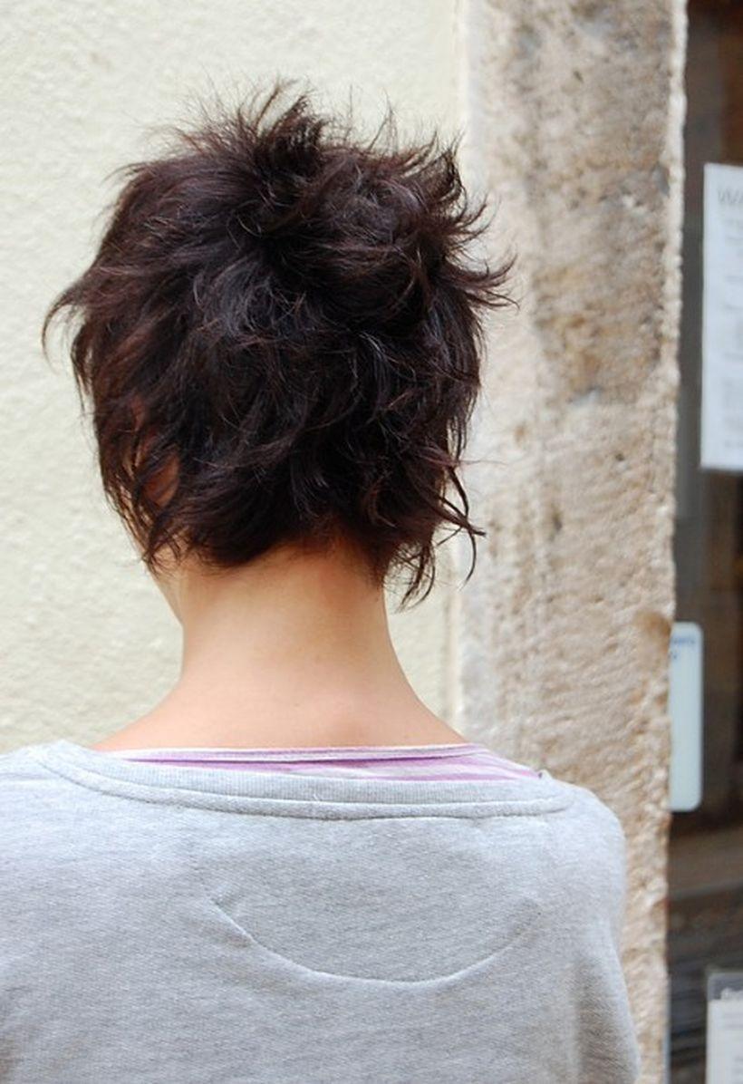 Cool Back View Undercut Pixie Haircut Hairstyle Ideas 13 Undercut