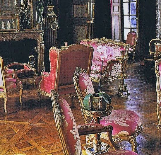 Baron Guy de Rothschild Marie-Hélène de Rothschild's sitting room.