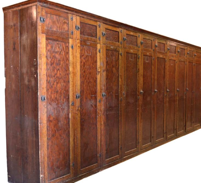 Beautiful antique lockers in Minneapolis. - Beautiful Antique Lockers In Minneapolis. My Industrial Furniture