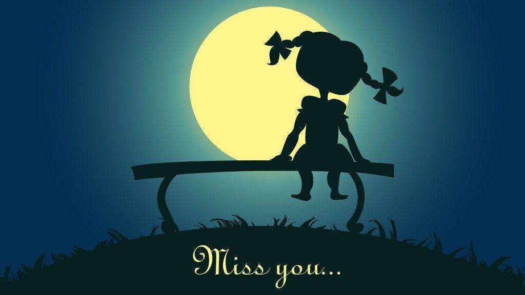 cute girl wishes i miss you hd wallpaper cute girl wishes