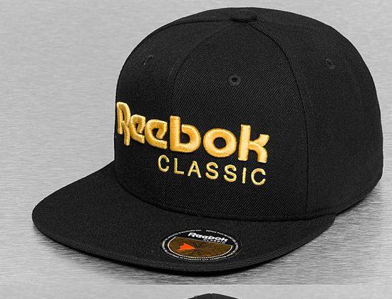 Classic Gold Snapback Cap by REEBOK  92c62f590df