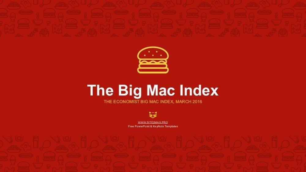 Bigmac index powerpoint template free download free download bigmac index powerpoint template free toneelgroepblik Gallery