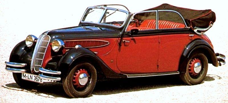 1936-41 BMW 326 cabrio 4-door by Ambi-Budd | Wheels | Pinterest ...