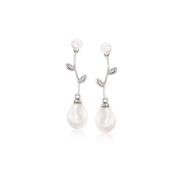 Simons Freshwater pearl earrings FnNF8Rp8