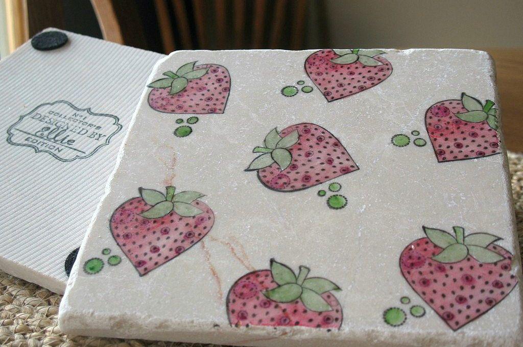 Strawberry Kitchen Trivet