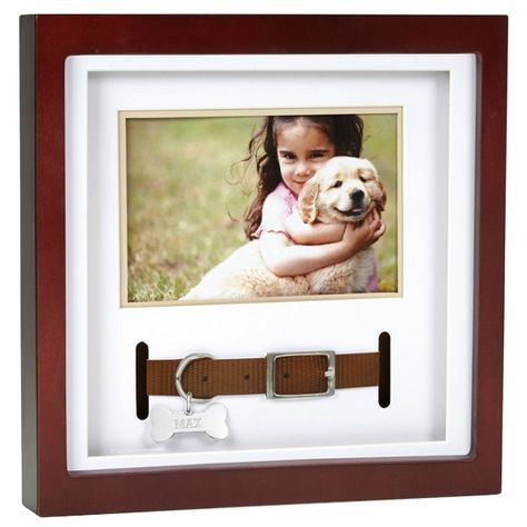 Pet Memorial Frame- Collar Keepsake | Cooper\'s grave | Pinterest ...