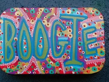 LETS BOOGIE by MIZ THANG, via Flickr
