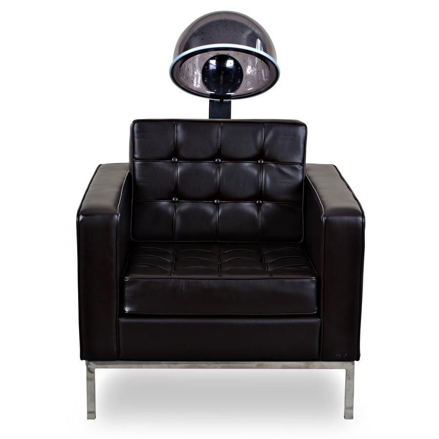 Salon Chair with hair dryer. hairdryerconcept Salon
