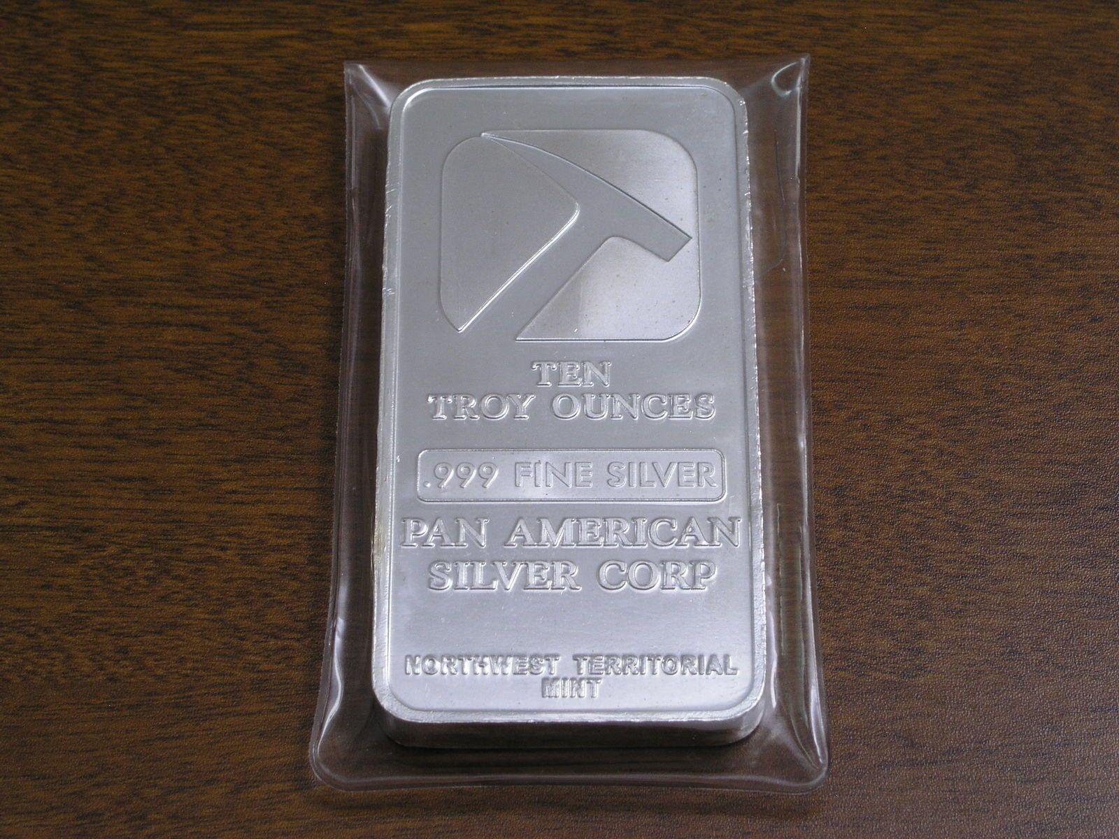 Pan American Silver Bars April 2019