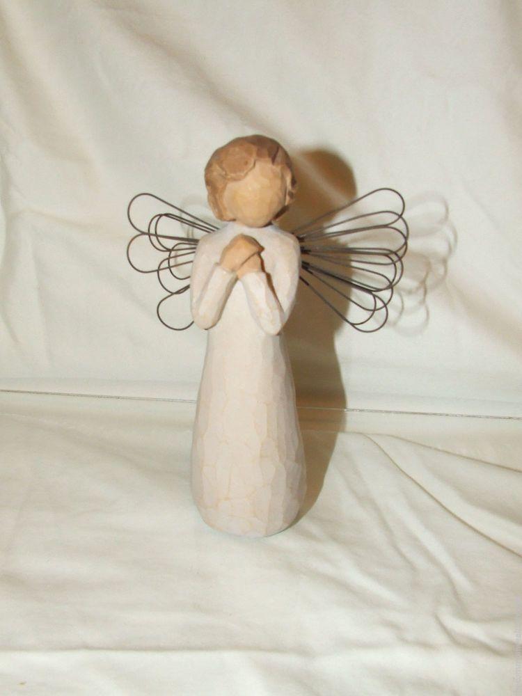 Willow Tree Angel of Wishes Figurine by Susan Lordi DEMDACO 26039 Original Box