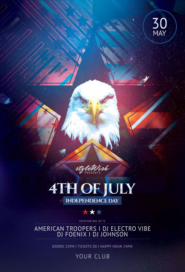 Th Of July Flyer Pinterest Flyer Template Template And Flyer - Buy flyer templates