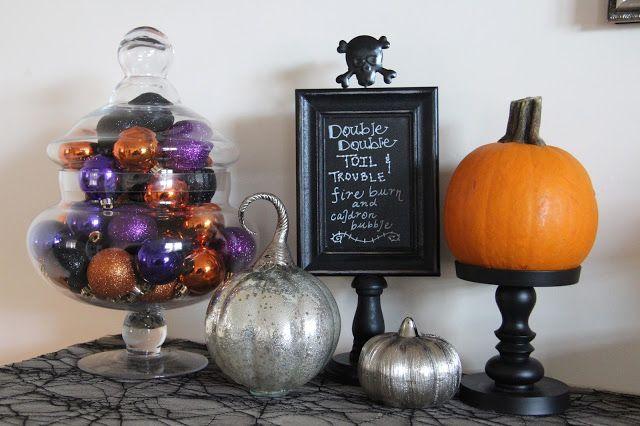 Happy Halloween Décor - Apothecary Jar filler Halloween