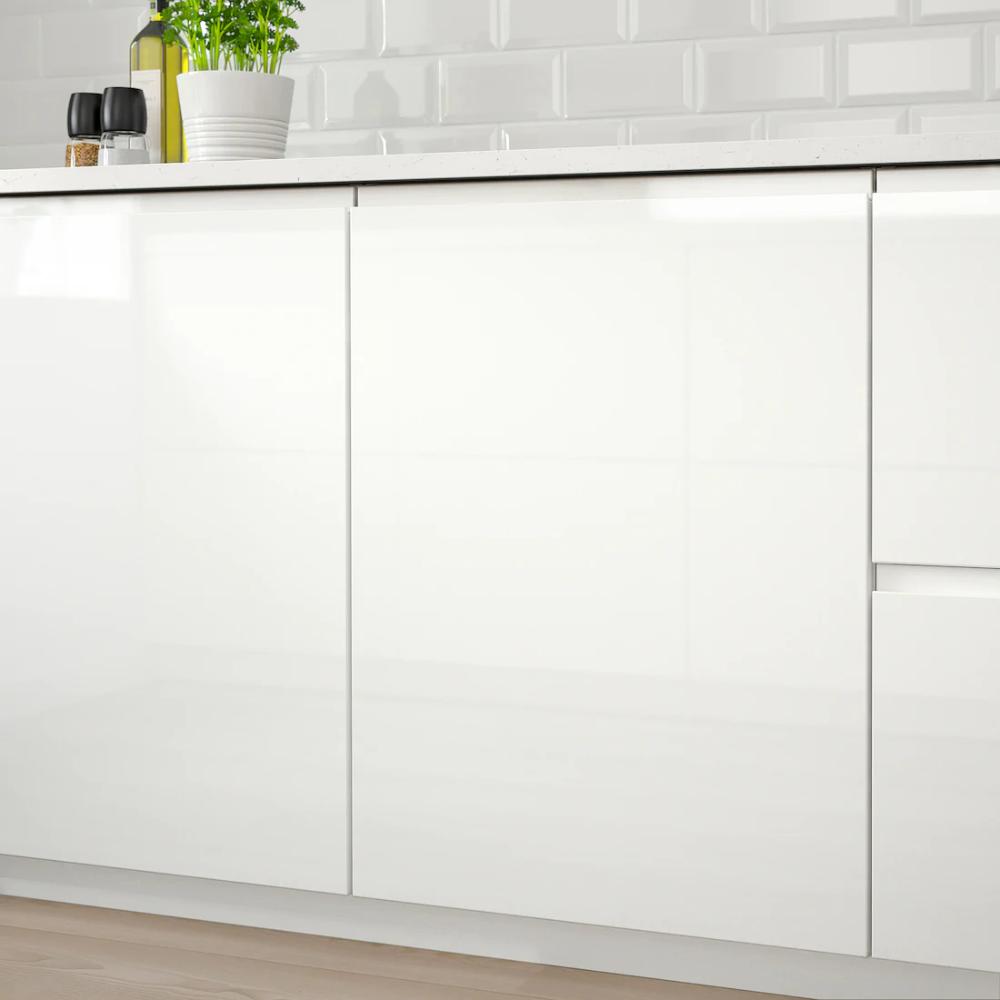 Voxtorp Porte Brillant Blanc 30x80 Cm Ikea En 2020 Ikea Ringhult Ikea Cuisine Minimaliste