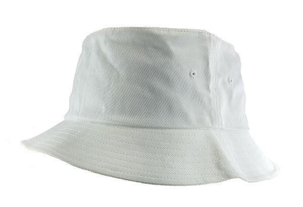 f156b1035ba2c7 Big Size 3XL/4XL White FlexFit® Bucket Hat | Big Size Outdoor Hats ...