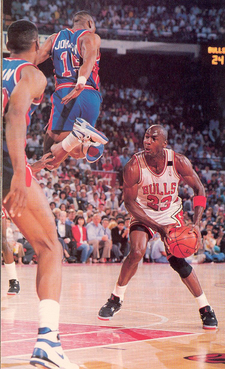 Vinnie Johnson & Michael Jordan Michael Jordan