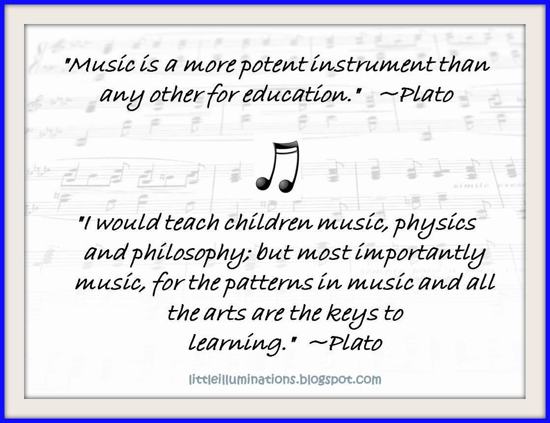 Plato And His Thoughts On Music And Children Wow Music Education Quotes Music Education Music Quotes
