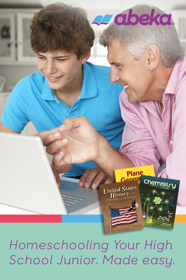 Get Everything You Need To Homeschool Your High School Junior At