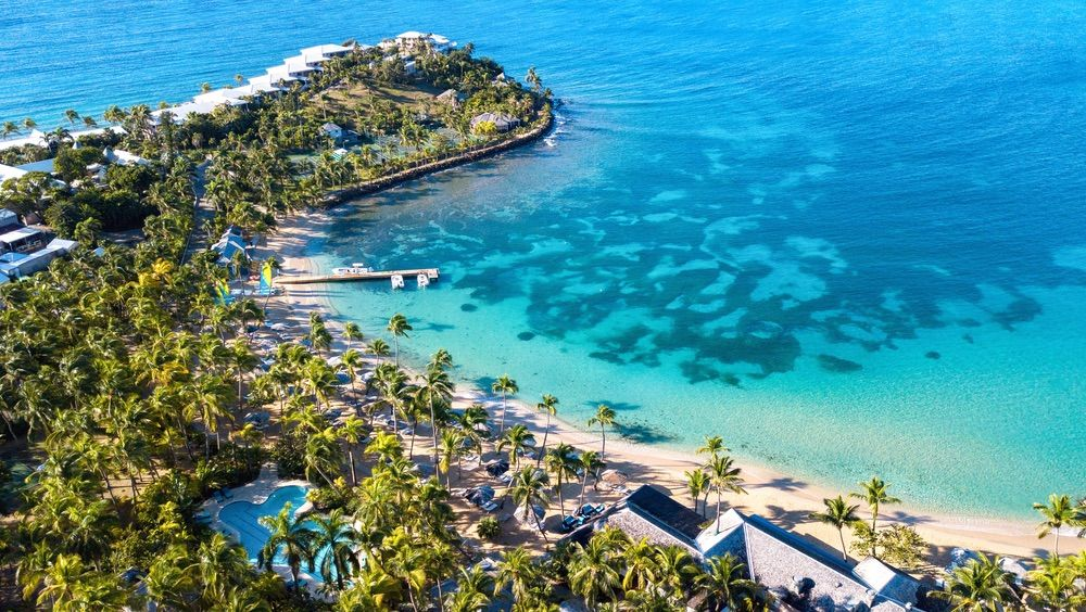 Excursions At Curtain Bluff Located On A Peninsula Between
