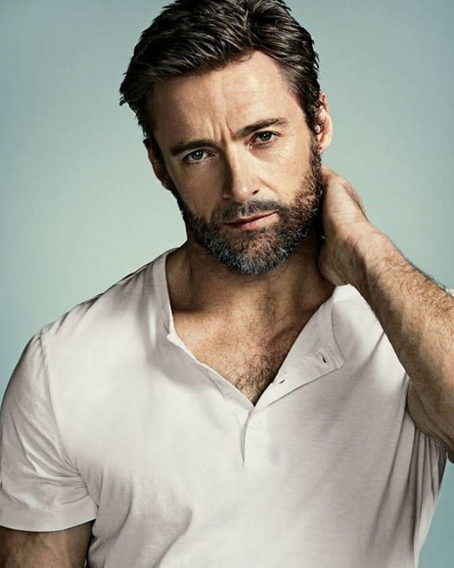 Hugh Jackman Haircuts For Men Funny Beard Memes Mens Hairstyles