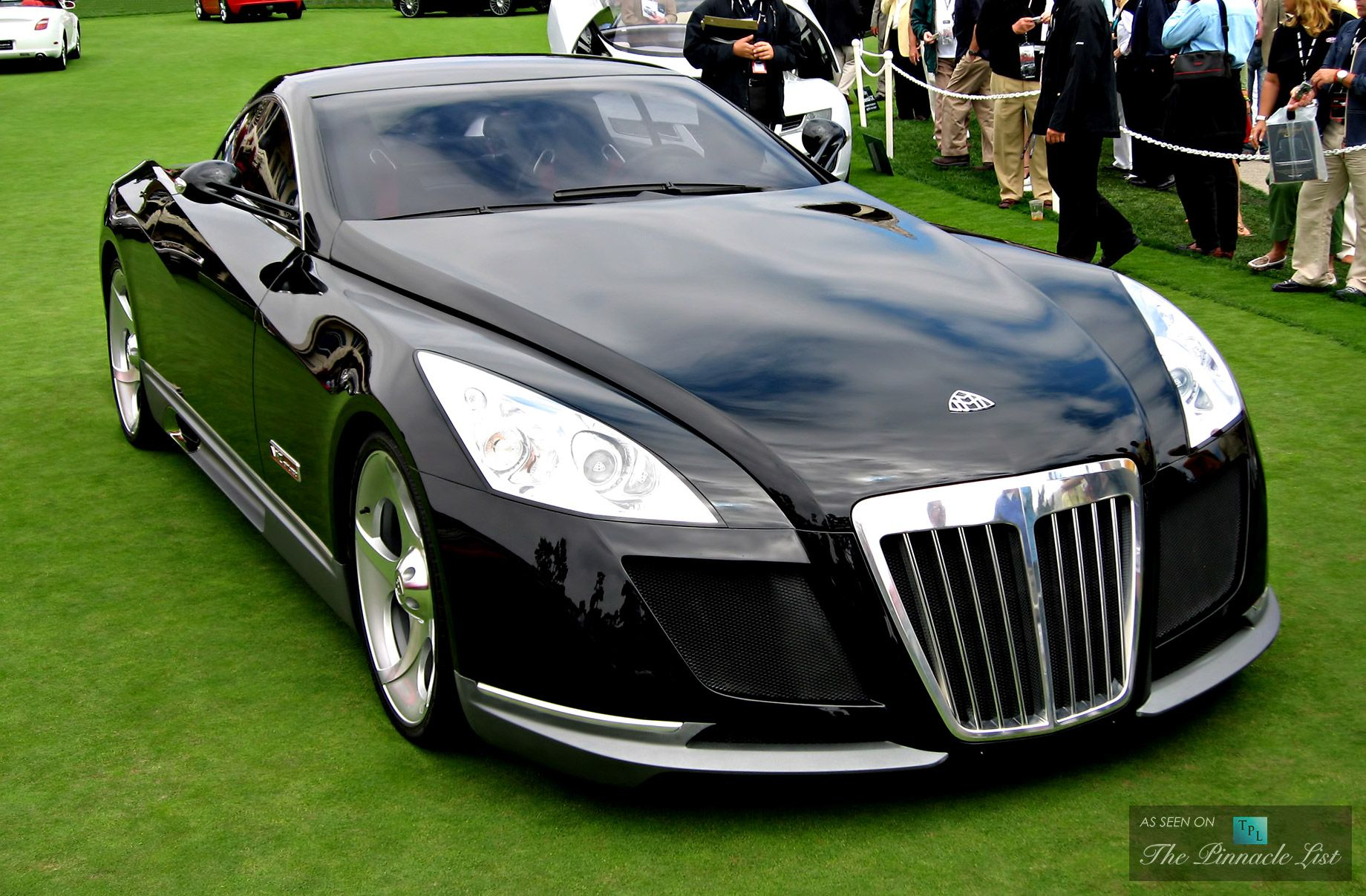 holding down the most expensive car title for now the 8 million maybach exelero is a one of a. Black Bedroom Furniture Sets. Home Design Ideas