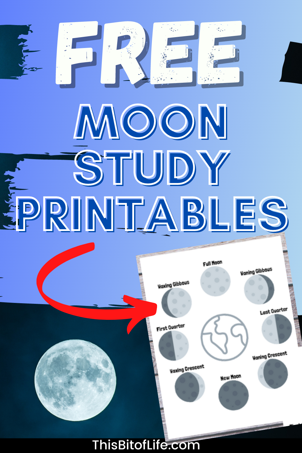 Unit Study About The Moon This Bit Of Life In 2021 Moon Unit Study Unit Homeschool Math Curriculum [ 1500 x 1000 Pixel ]