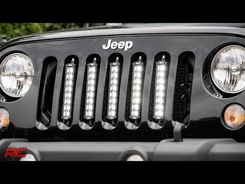 Installing 20072017 Jeep Wrangler JK Vertical 8inch LED Light Bar