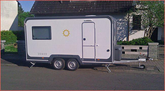 Knaus Deseo Camping Anhanger Zum Quad Transport Knaus Bietet Mit