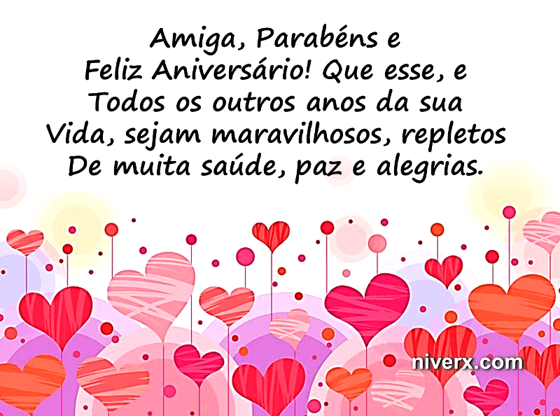 Feliz Aniversário Amiga Maravilhosa Evangélico Happy Birthday