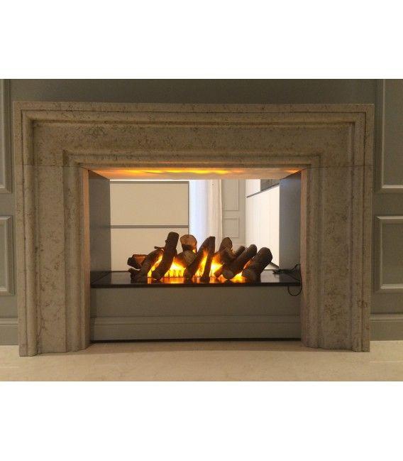 Caminetto elettrico ad acqua BRACE 50 Metal di maisonfire ...